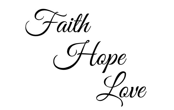592x376 Faith Hope Love Temporary Tattoo Quote Tattoo Tattoo