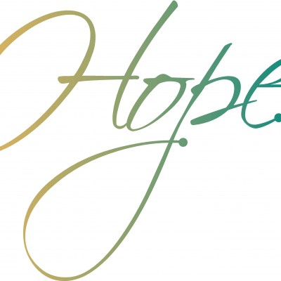 400x400 Hope Cursive Hope Word Art Clipart Panda