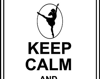 340x270 Keep Calm And Dance On Wall Clipart Panda