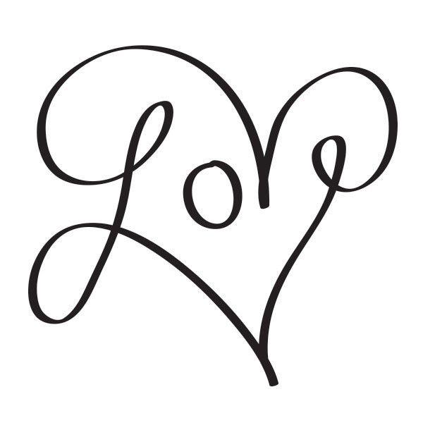 600x600 Best Love In Cursive Ideas I In Cursive, Love