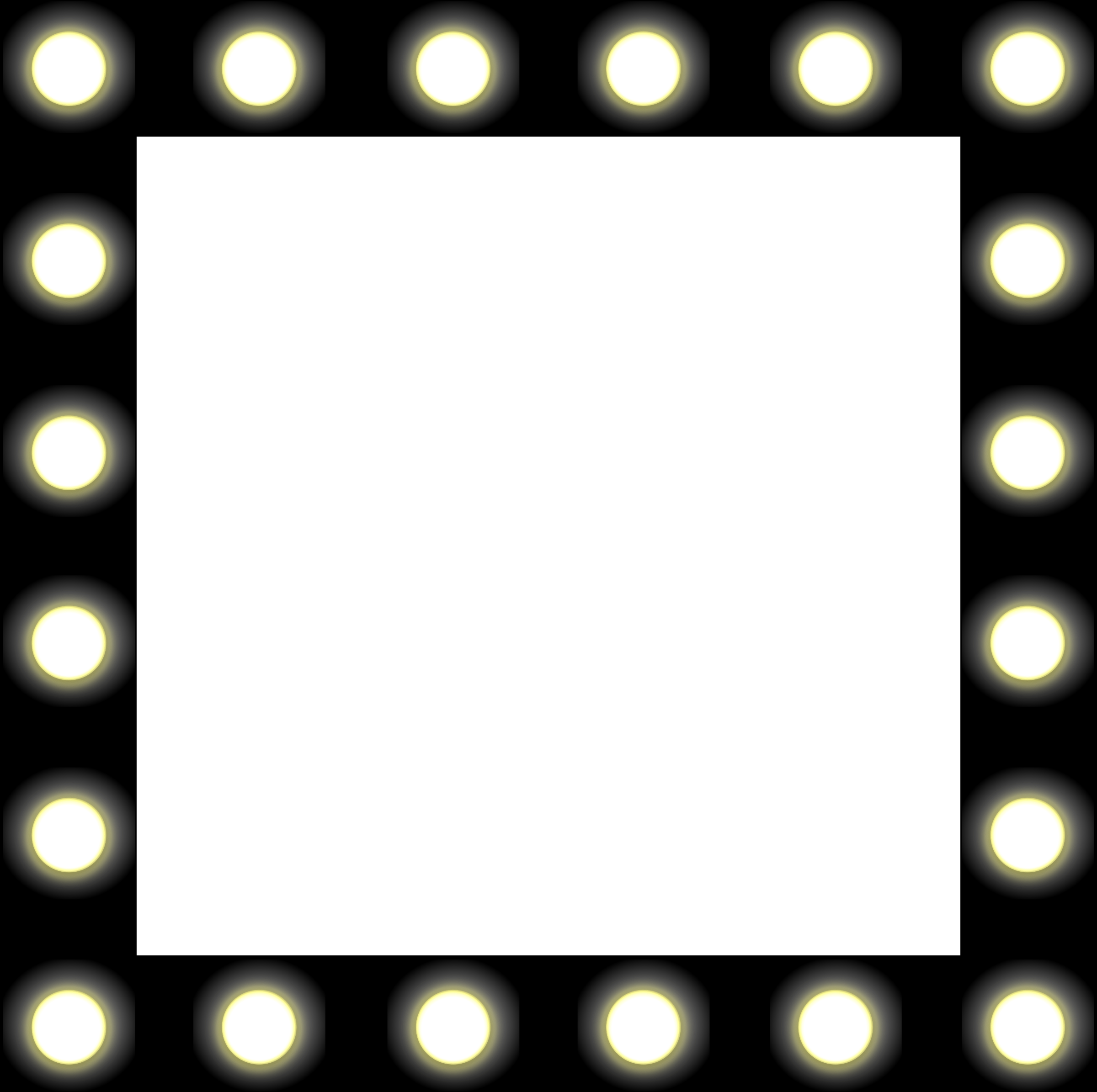 2400x2390 Theater Lights Clipart1991727