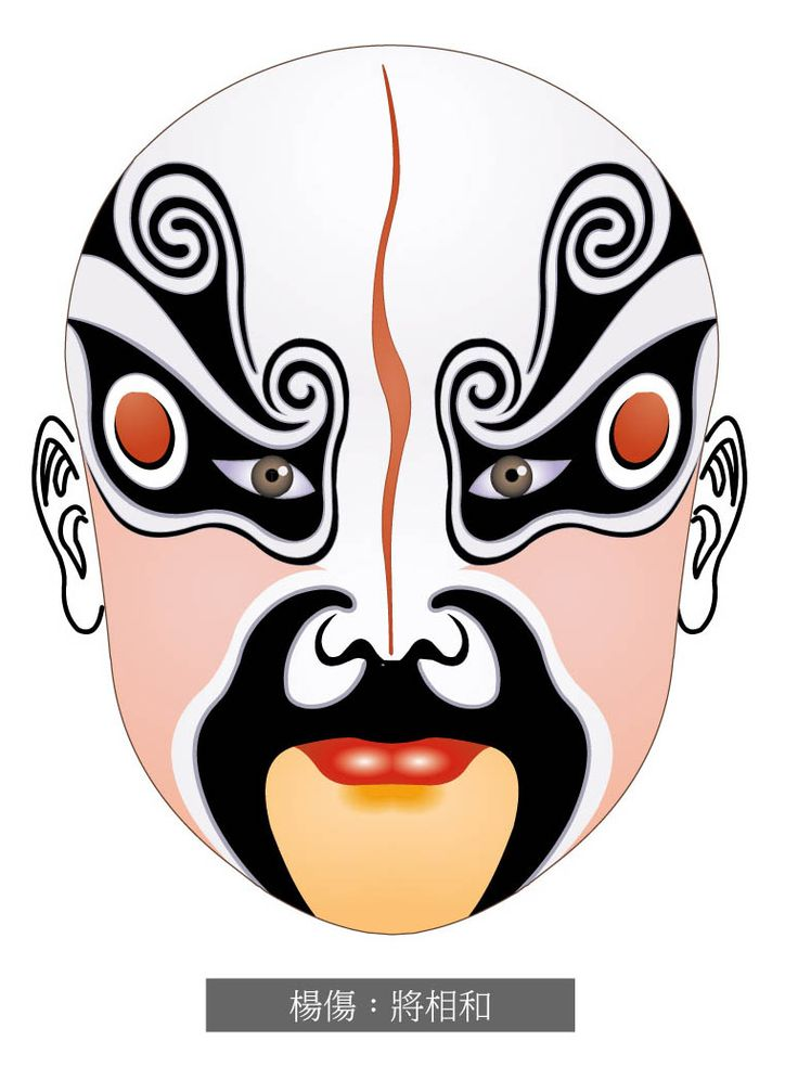 Theatre Faces Clipart