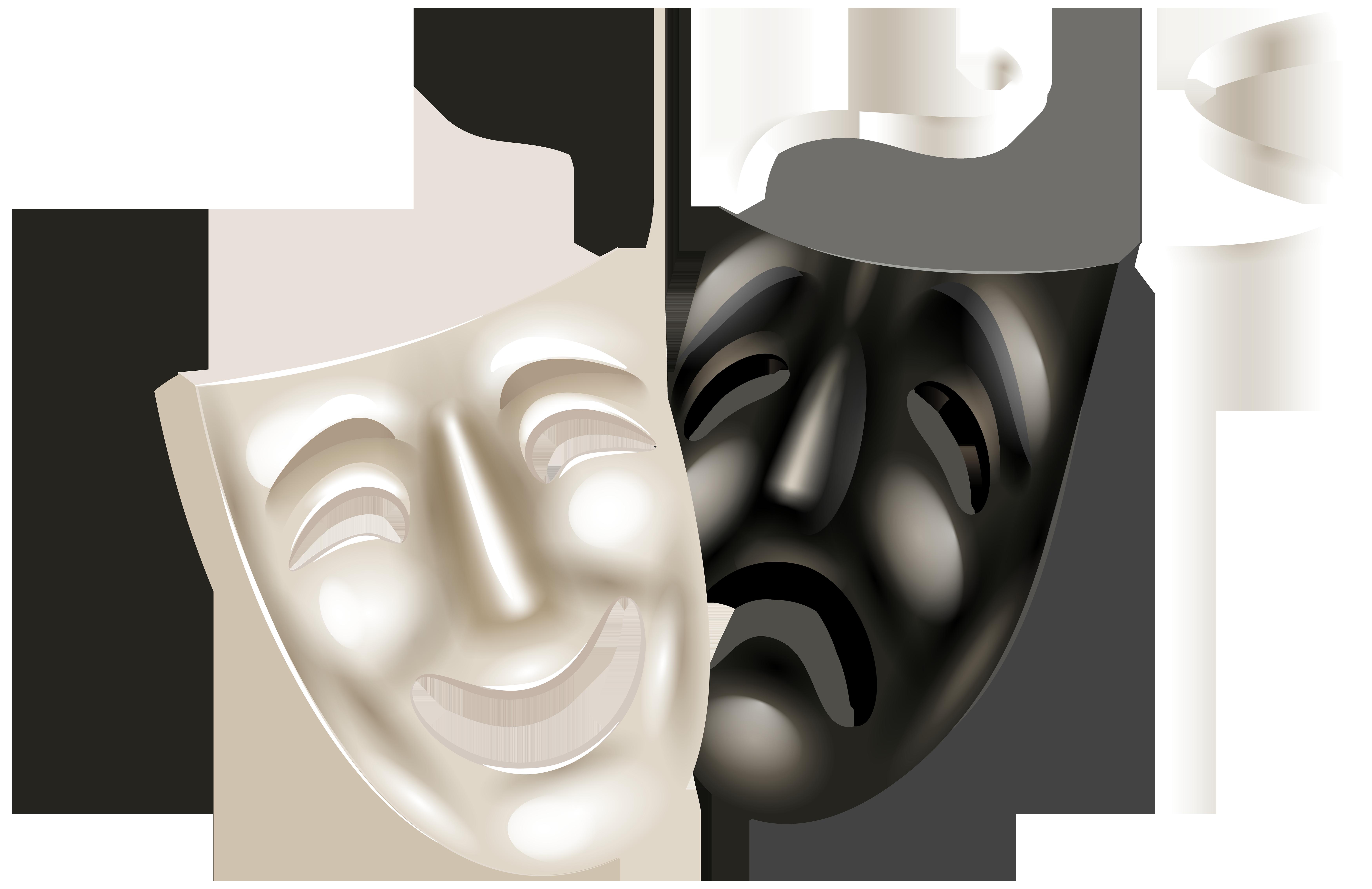Theater Masken Wallpaper