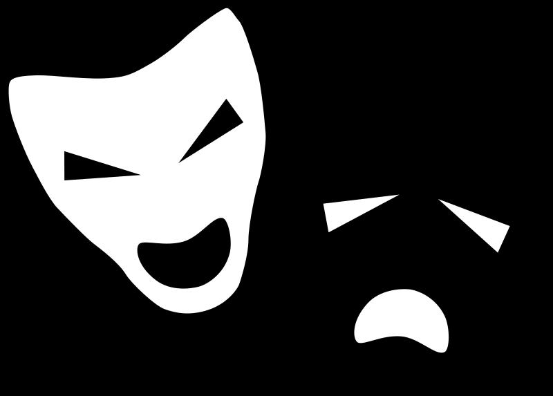 537x477 Drama Masks Clipart Kid. 800x573 FileDrama Icon.svg