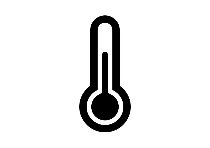 800x566 Simple Thermometer Icon