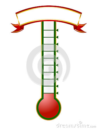 338x450 Fundraising Thermometer Clip Art
