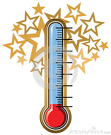 371x450 Fundraising Goal Thermometer Clipart