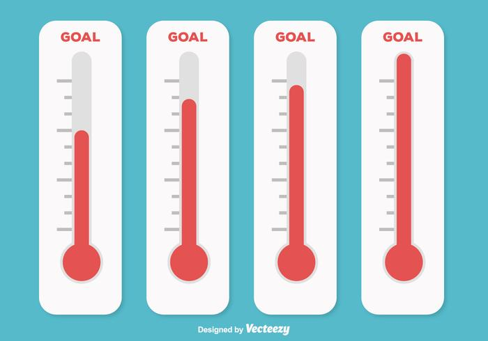 700x490 Goal Thermometer Illustration