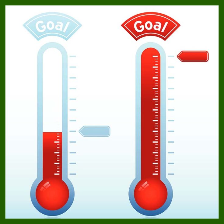 736x736 20 Best Goal Thermometer Images Autism, Charity