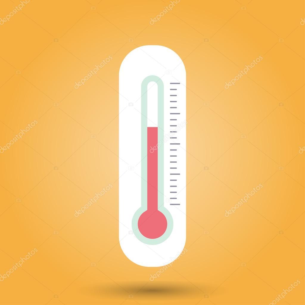 1024x1024 Thermometer Template Stock Vector David Dark0