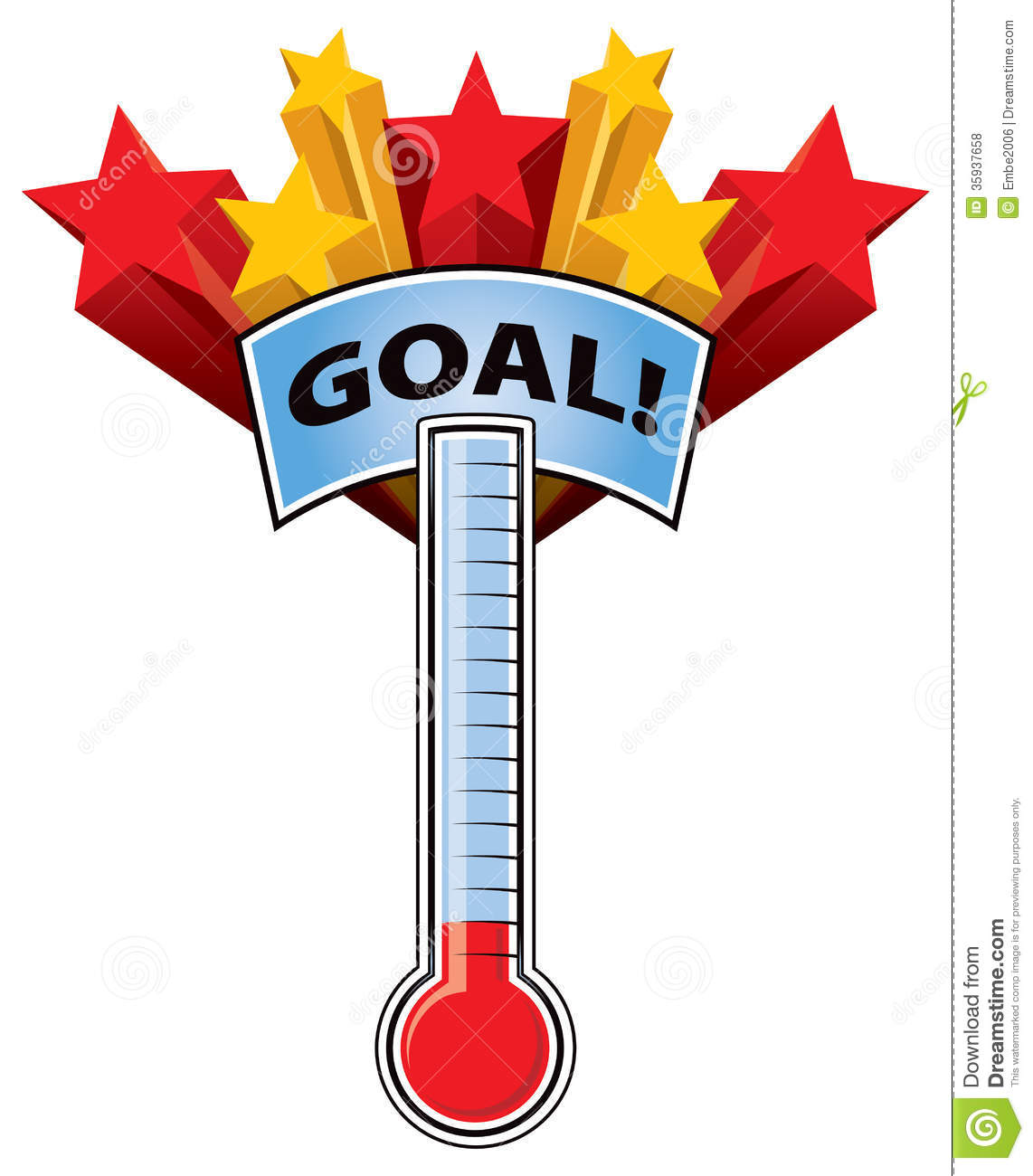 1142x1300 Fundraising Goal Thermometers