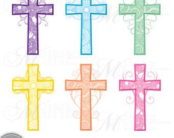340x270 Christian Cross Clipart Thin Cross Brushstroke Clipart