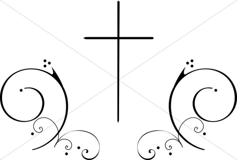 776x524 Thin Cross Clipart