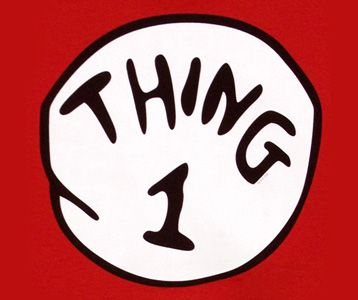 Thing 1 And Thing 2 Book