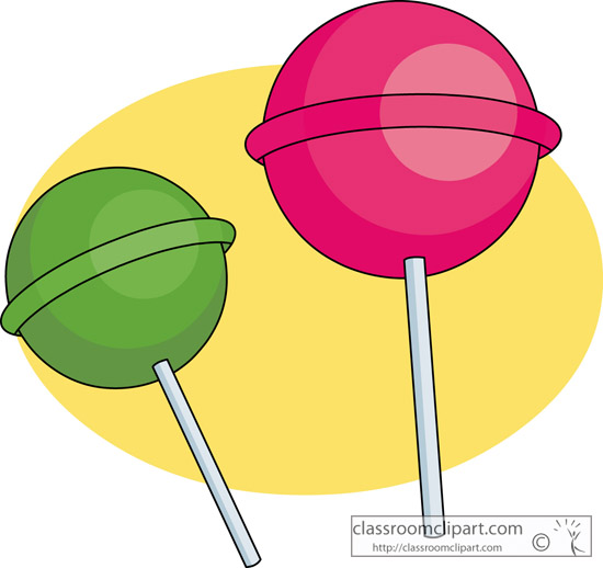 550x518 Lollipop Clipart Round Thing