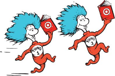 396x262 Thing 1 And Thing 2 Clip Art