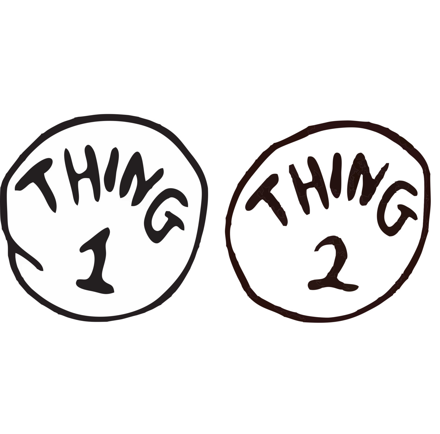 picture relating to Thing 1 and Thing 2 Logo Printable called Point 1 And Factor 2 Pictures Cost-free down load easiest Matter 1 And