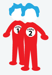 photograph regarding Thing 1 and Thing 2 Printable Cutouts named Point 1 And Point 2 Pics Free of charge obtain most straightforward Factor 1 And