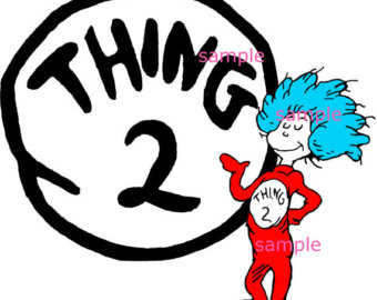 photograph relating to Thing 1 and Thing 2 Printable Iron on Transfer named Point 1 And Issue 2 Printable Cost-free down load excellent Factor 1
