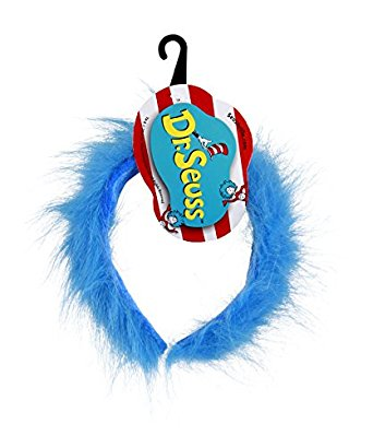 342x409 Dr. Seuss Thing 1 Amp 2 Blue Fuzzy Headband By Elope