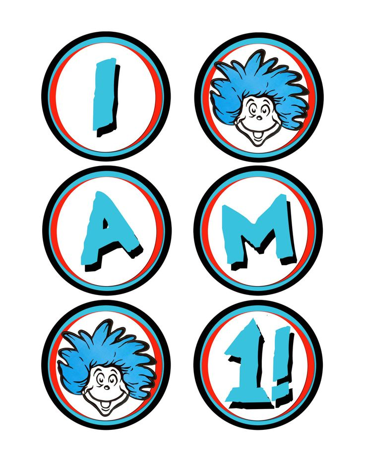 Thing 1 And Thing 2 Printable Pictures | Free download on ...