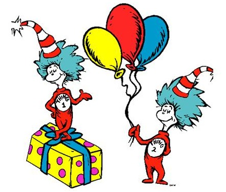 441x375 Dr Suess On Dr Seuss Clip Art And Thing 1 Thing 2 Image