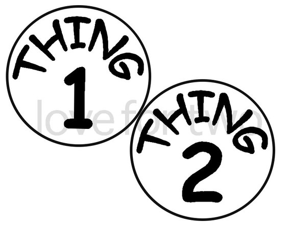 photograph relating to Thing 1 and Thing 2 Printable Iron on Transfer titled Components 1 And 2 Totally free obtain least difficult Components 1 And 2 upon