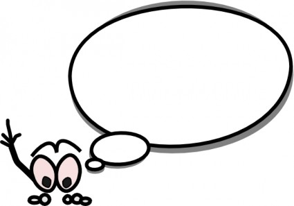 425x297 Thought Bubble Word Bubble Cartoon Speech Clip Art High Quality 5