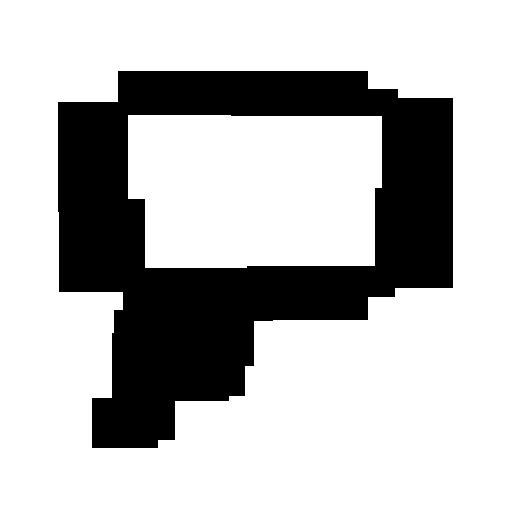 512x512 Left Thought Bubble (Bubbles) Icon