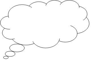 323x215 Person Thinking With Thought Bubble Free Clipart 4 Image