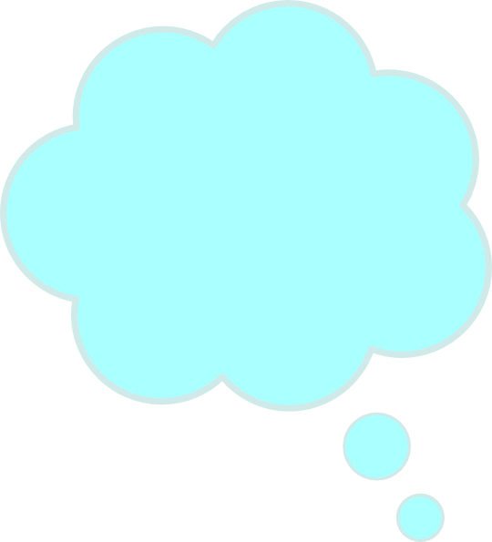 Thinking Bubble Clipart