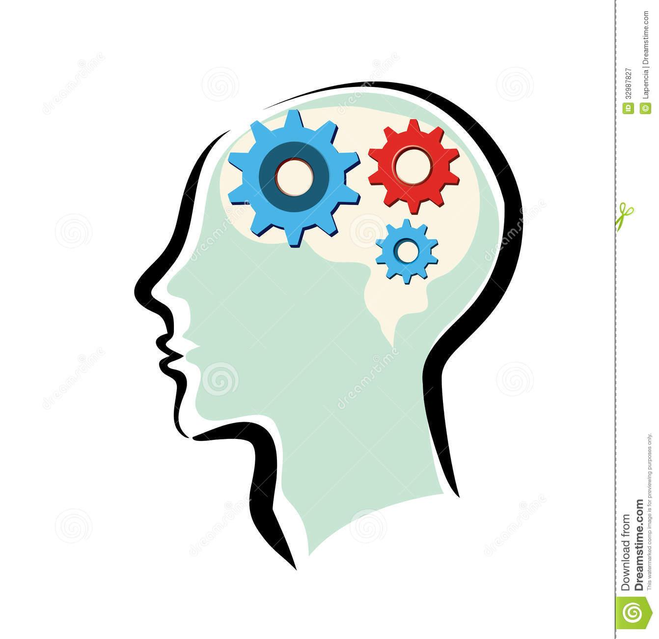 1342x1300 Thinking Head Clip Art Clipart