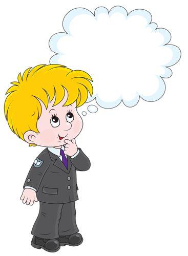 Thinking Cartoon Clipart