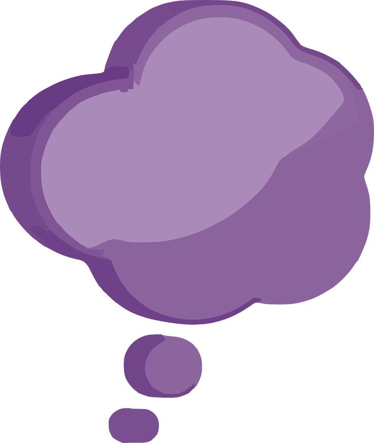 Thinking Cloud Clipart