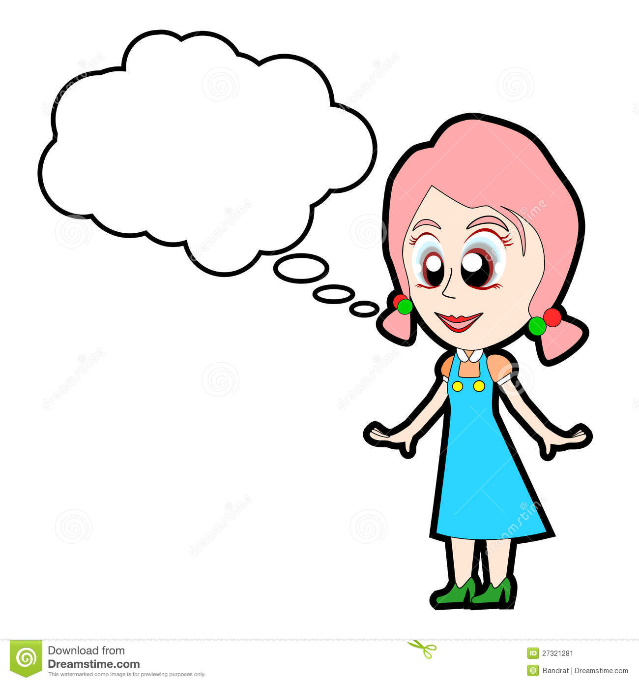 1300x1390 Girl Speaking Clipart