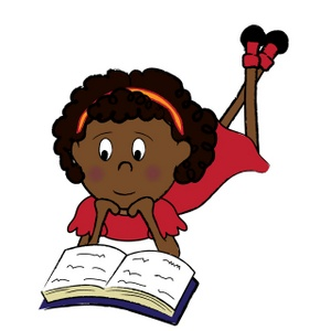 300x300 Black Girl Thinking Clipart
