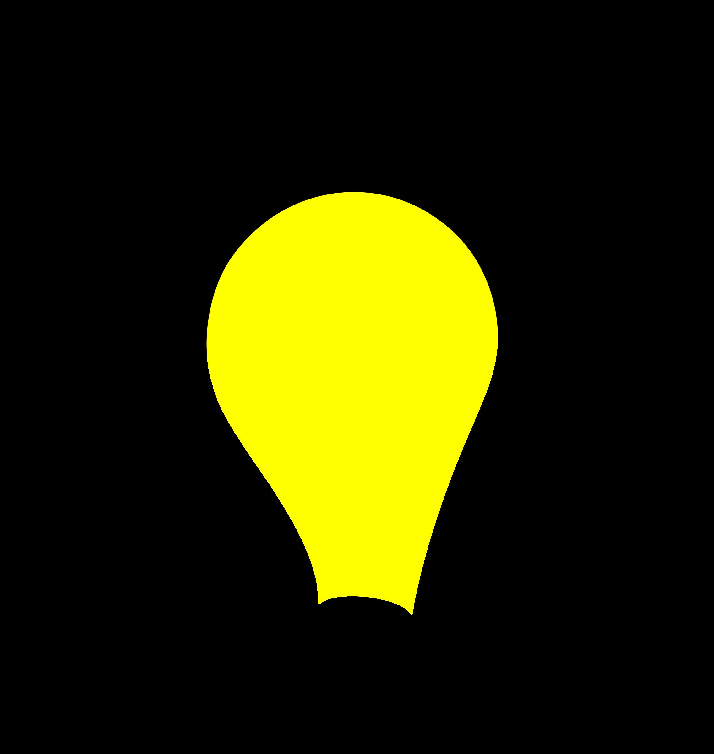 2273x2400 Clipart Light Bulb Lit Clipartbold