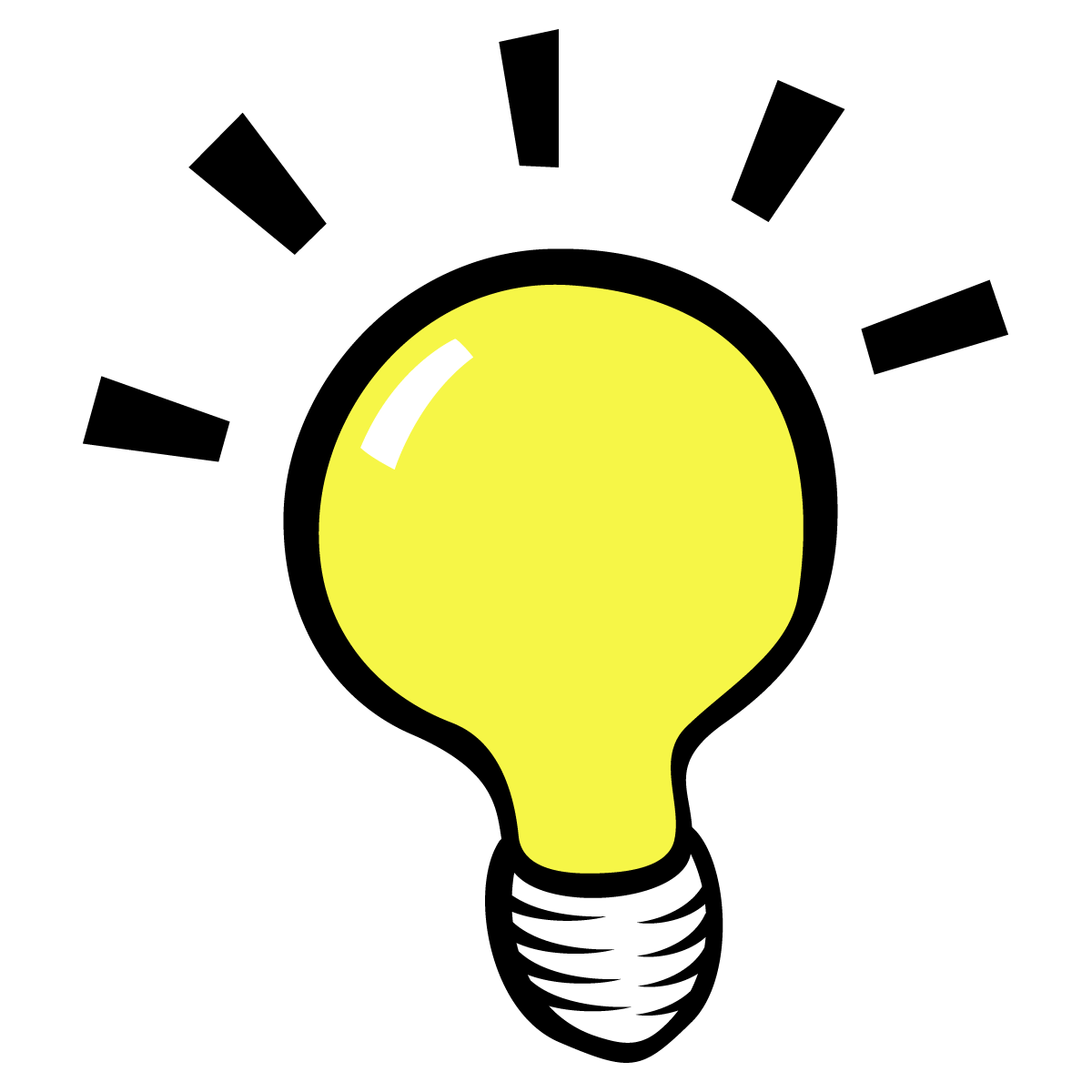 1200x1200 Lightbulb Light Bulb Thinking Clipart Kid 3