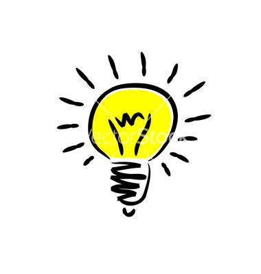 380x400 Thinking Light Bulb Clip Art Clipart Panda