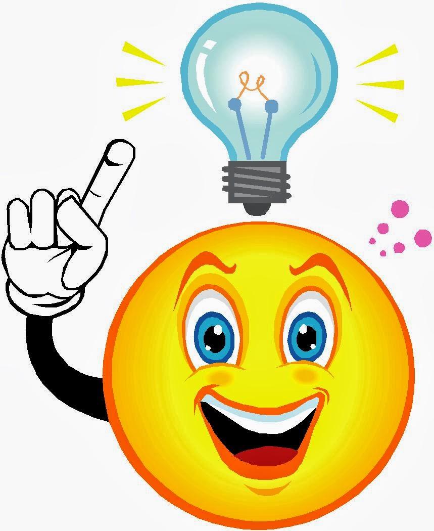 859x1050 Thinking Light Bulbs Clipart
