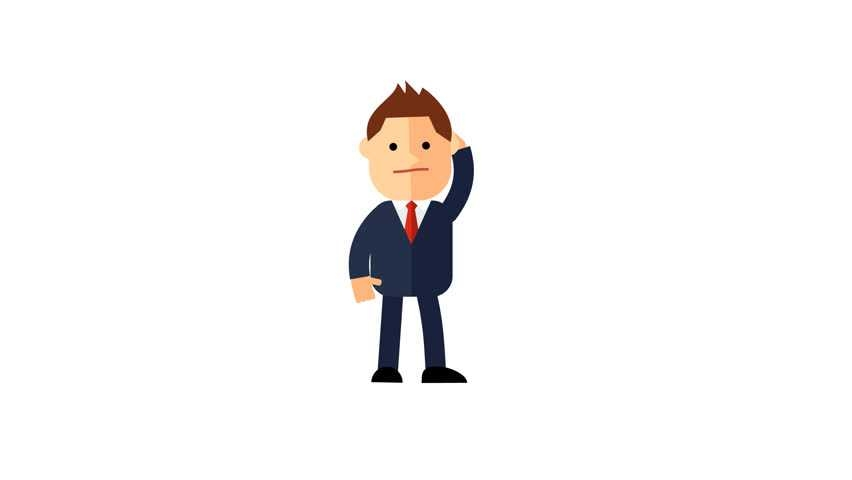 852x480 Free Clip Art Of Person Thinking Clipart