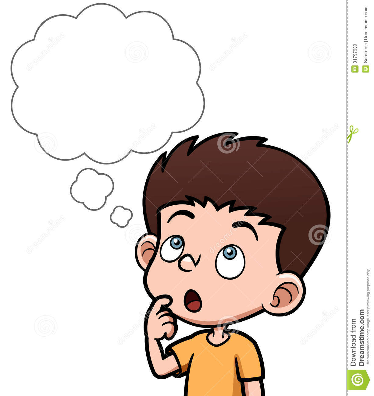1227x1300 Child Thinking Clipart