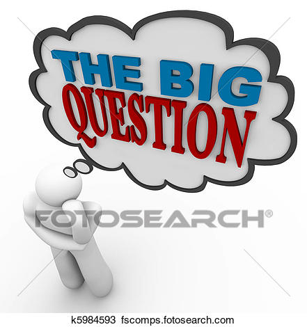 441x470 Stock Photo Of The Big Question