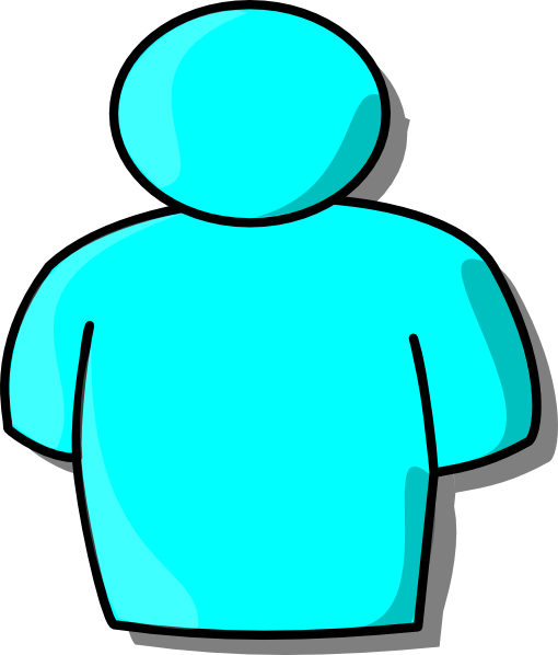 510x598 Clipart Of A Person