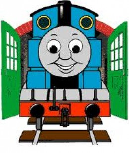 260x308 Blue And Yellow Thomas Train Clipart Of Thomas