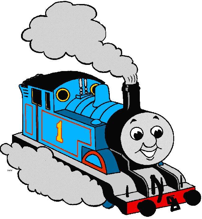 Thomas Train Clipart