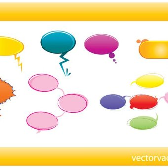 Thought Bubble Template Clipart