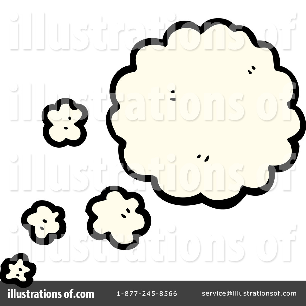 1024x1024 Thought Cloud Clipart