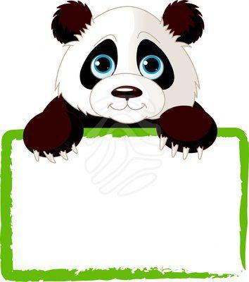 354x400 Cute Panda Clipart