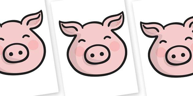 630x315 Mask Clipart Pig